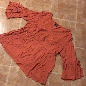 Torrid 3/4 sleeve shirt size women's large (